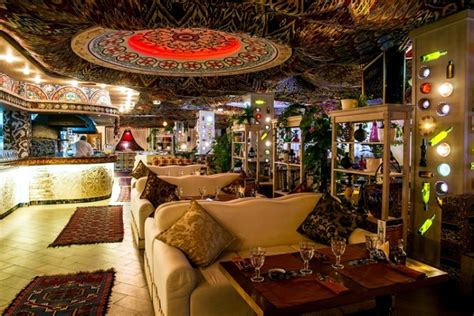 restaurant design  moscow  authentic oriental