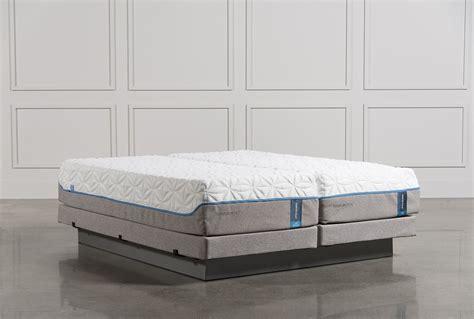 tempur pedic cloud luxe cal king split mattress set wlow