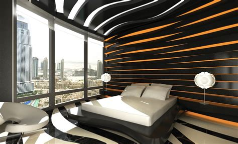 creative apartment design for burj khalifa tower
