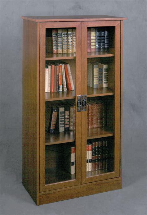 top  bookcases  glass doors