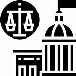 Justice Court Icon Icons Security