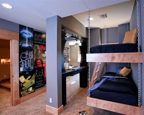 Minimalistische Einrichtung Des Kinderzimmerskinderzimmer Einrichtung Mit Hochbett Und Schreibtisch by Coole Zimmer Ideen F 252 R Jugendliche Und Kreative