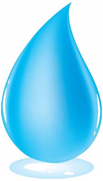 Cartoon Water Drop Drops Clipart Droplet Clip