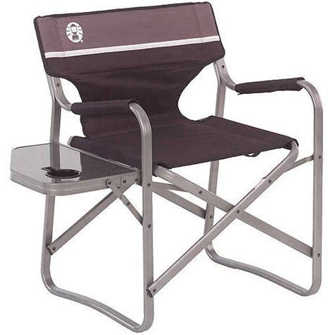 coleman deck chair with folding table walmart
