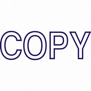 Copy Stamp Office Supplies