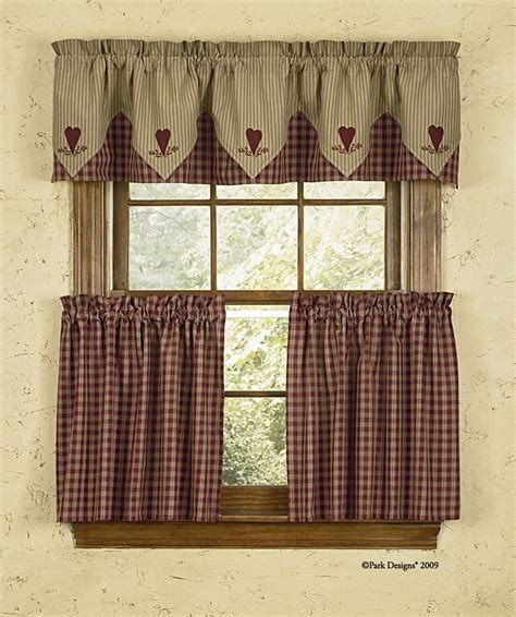 primitive country kitchen curtains best 25 country curtains ideas on country 4414