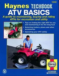 Atv Basics Haynes Techbook Haynes Repair Manual  Usa