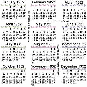 What Happened in 1952 including Pop Culture, Significant ...