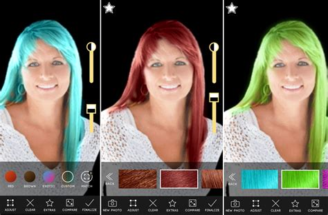 Try On Different Hair Colors And Styles