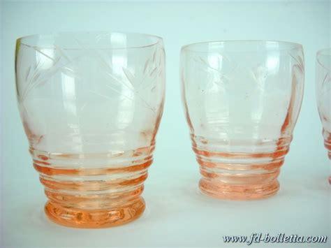 bicchieri antichi bicchieri antichi in vetro molato lotto di vecchi