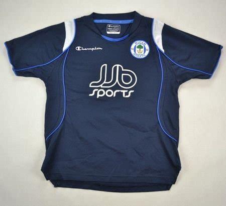 2008-09 WIGAN ATHLETIC SHIRT S. BOYS Football / Soccer ...