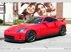 Red Nissan 350Z BenLevycom