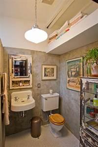 Putz Für Badezimmer : w nde in putz look vintage m bel und ausstattung f r badezimmer ~ Watch28wear.com Haus und Dekorationen