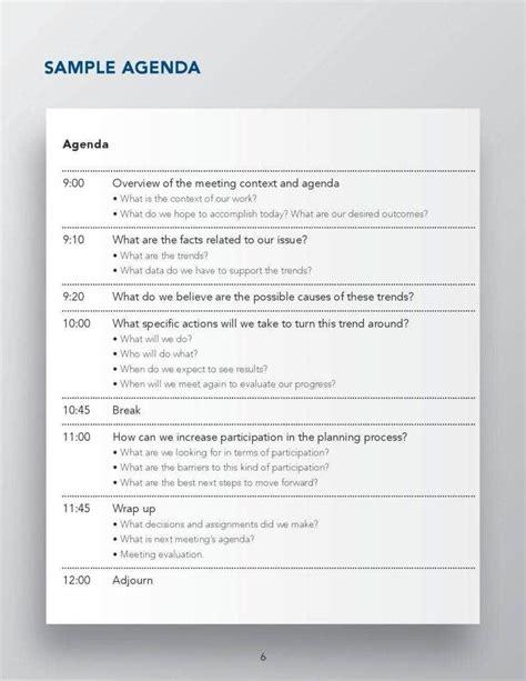 tips    lead productive team meetings