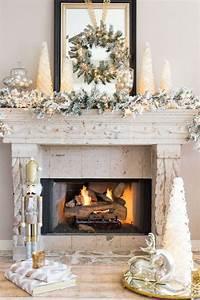 Diy, Christmas, Mantel, And, Decor, Ideas