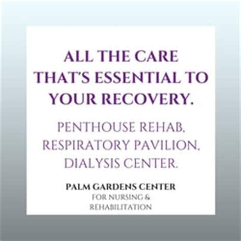 palm gardens nursing rehabilitation rehabilitation