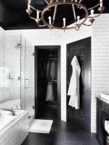 black white bathrooms ideas timeless black and white master bathroom makeover bathroom ideas designs hgtv