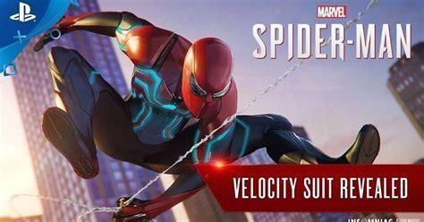 Revelado Un Nuevo Traje Para Spider-man, Velocity Suit
