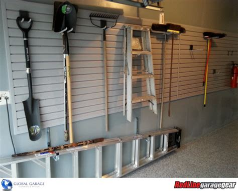 garage wall panels small garage organized with garage cabinets slatwall and