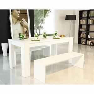 Banc Salle à Manger : table a manger avec banc ~ Teatrodelosmanantiales.com Idées de Décoration