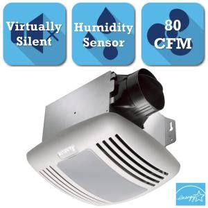 humidity controlled exhaust fan delta breez greenbuilder series 80 cfm ceiling exhaust