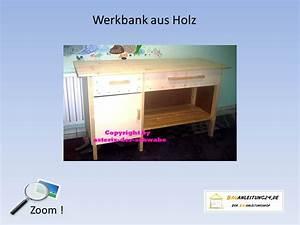 Werkbank Aus Holz : bauanleitung werkbank aus holz bauanleitungen baupl ne von kreativen k pfen f r kreative k pfe ~ Markanthonyermac.com Haus und Dekorationen