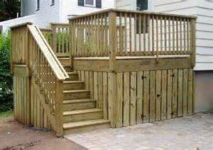 Deck Stair Railing Design