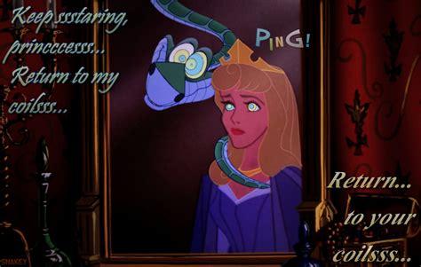 Kaa X Princess Aurora By Snakeythingy On Deviantart