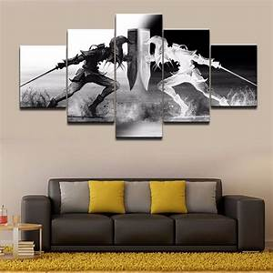wall art vikings pictures home decor 5 pieces legend of With art on walls home decorating