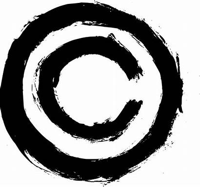 Symbol Copyright Grunge Transparent Symbole Onlygfx Dollar