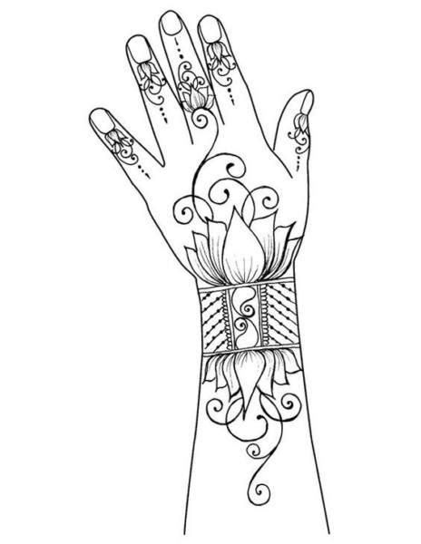 Classy Mehndi Designs For Hands Step By Step - Craft Community
