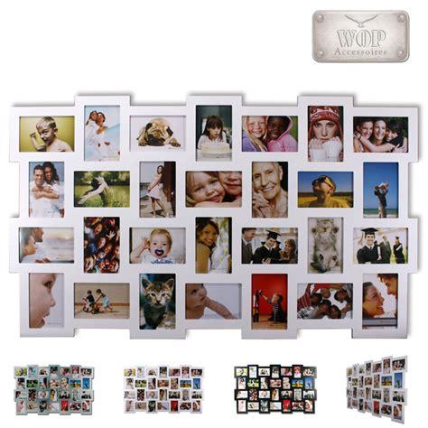 bilderrahmen bildergalerie foto fotorahmen rahmen holz collage ebay