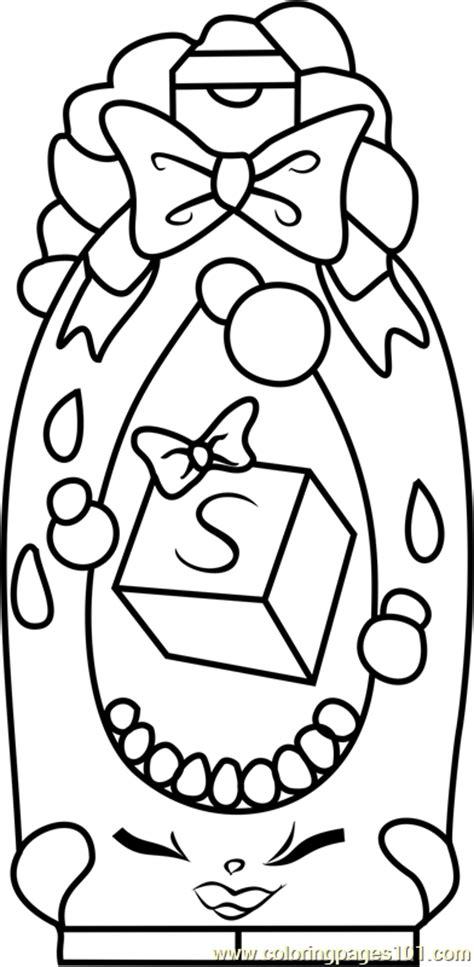 shampoo sue shopkins coloring page  shopkins