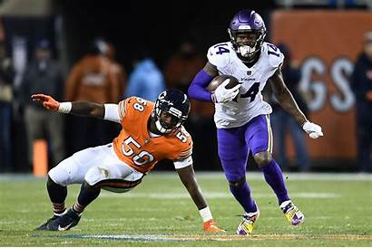 Diggs Stefon Bears Chicago Roquan Smith Patriots