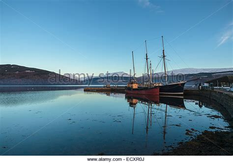 Boat Covers Scotland by Scotland Fishing Harbour Highlands Stock Photos Scotland