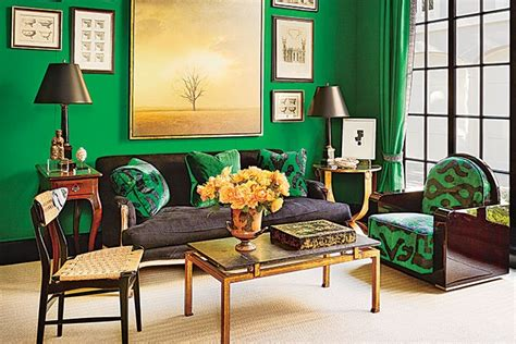 jewel tone paint inspiration  architectural digest