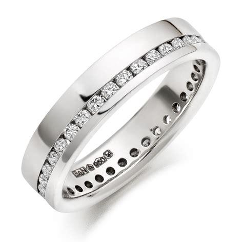 wedding rings g si brilliant diamonds in platinum wedding ring