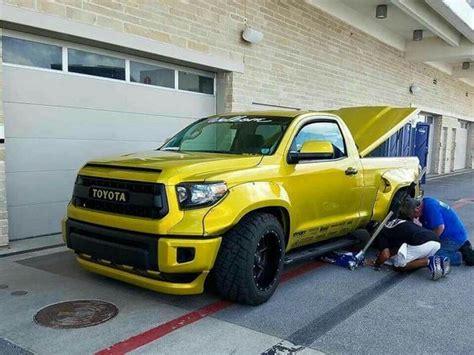 widebody toyota truck toyota tundra wide body and slammed trucks pinterest