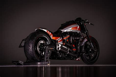 Harley Davidson Fxdr 114 Picture by Wow Harley Davidson Softail Fxdr 114 Custom By Thunderbike