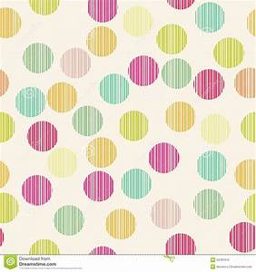 Simple Circle Seamless Pattern Stock Vector - Image: 34781670