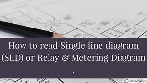 How To Read Single Line Diagram  Sld  Or Relay  U0026 Metering