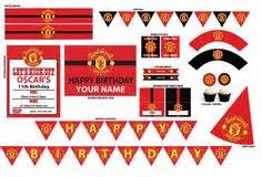 10+ Best Manchester United Party ideas | party, soccer ...