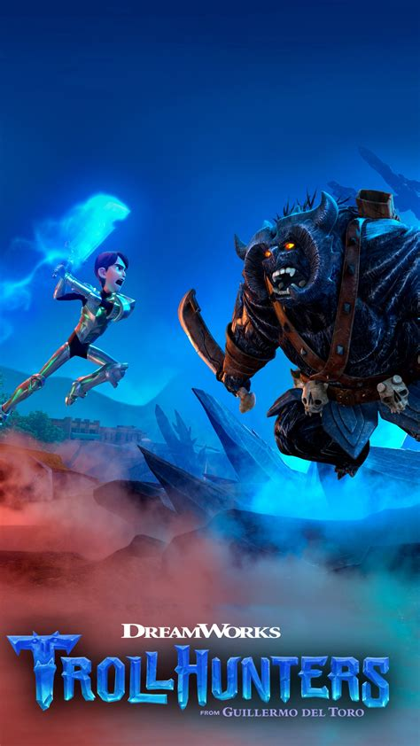 wallpaper trollhunters animation  tv series