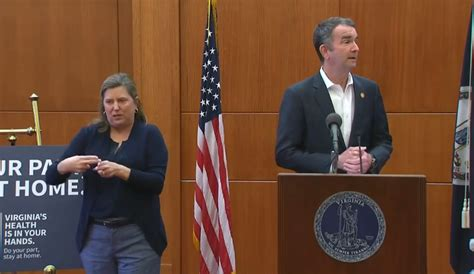 virginia governor latest  issue stay  home order