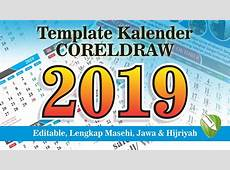 Download Template Kalender 2019 YouTube