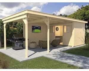 Gartenhaus 4 X 3 : gartenhaus weka man cave play relax gr 4 mit fu boden und seitlicher berdachung 744x295 cm ~ Orissabook.com Haus und Dekorationen