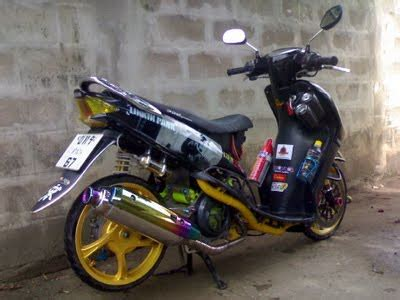 Modif Babylook by Modifikasi Mio Babylook Modifikasi Motor Kawasaki Honda