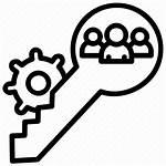 Agile Icon Team Master Core Scrum Key