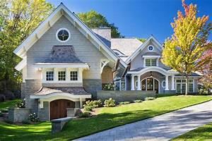 Shingle, Style, Lakeside, Cottage, Mansion