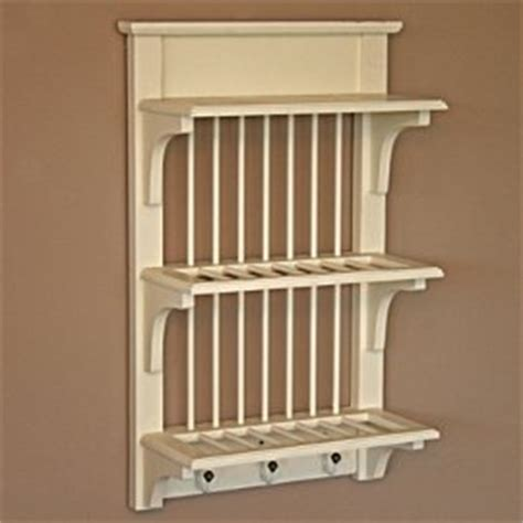 shabby chic wall mounted plate rack amazoncouk kitchen home